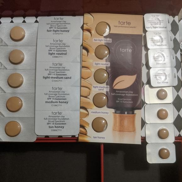 Tarte samples